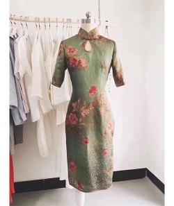 学员昕昕工作室的旗袍